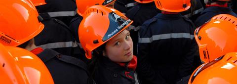 Une section de Jeunes Sapeurs-Pompiers