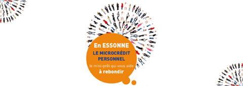Visuel du dispositif de microcrédit en Essonne