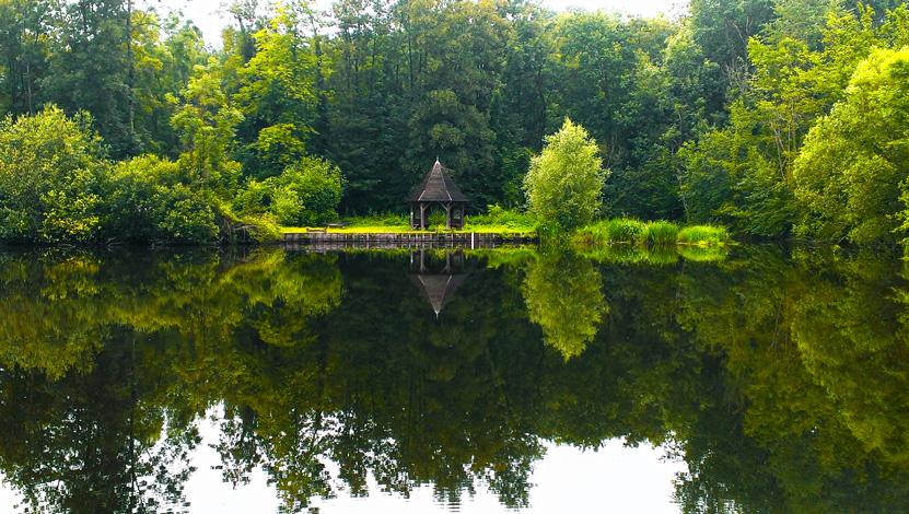 L'isle rouge, un des Espaces Naturels Sensibles en vallée de l'Essonne
