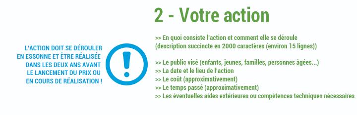 2 - Votre action