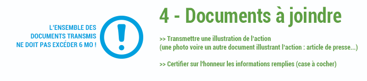 4 - Document à joindre