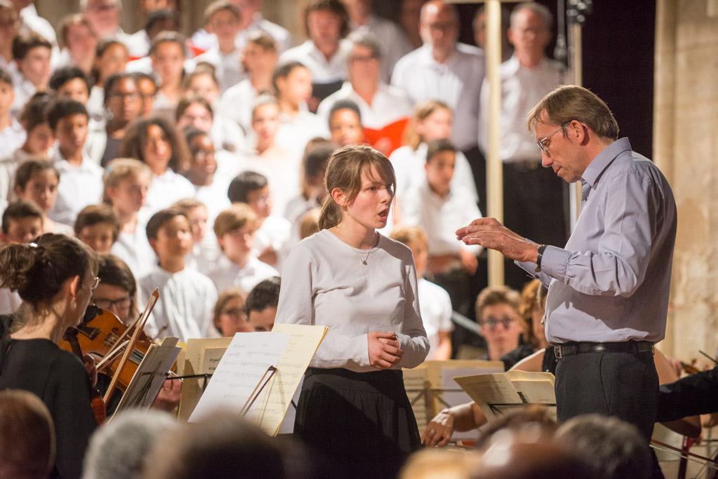 Les Chorales de l'Essonne à la Basilique de Longpont-sur-Orge