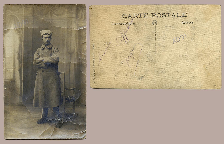 27 - Georges Rogé, portrait. (032NUM044/96)
