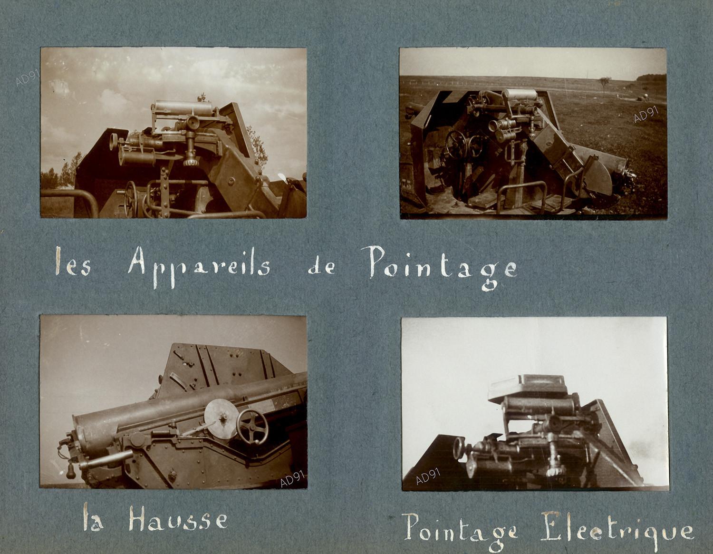 28 - Les appareils de pointage de l'auto-canon, photographie. (032NUM019/041)