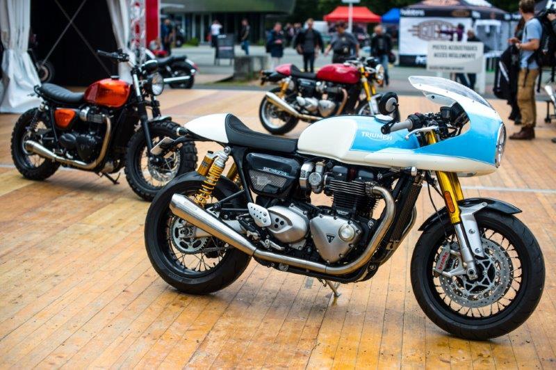 Cafe Racer Festival sur l'autodrome de Linas-Montlhéry