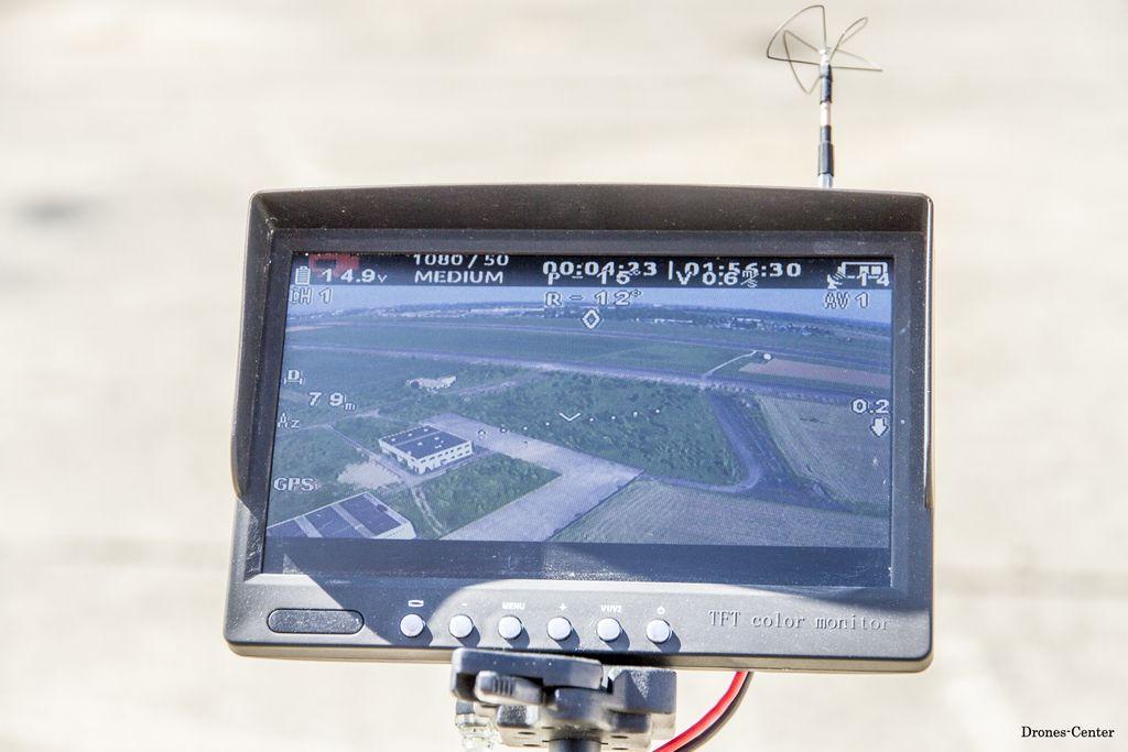 Prendre un photo à partir d'un drone