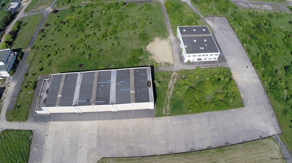 La BA 217 vue d'un drone