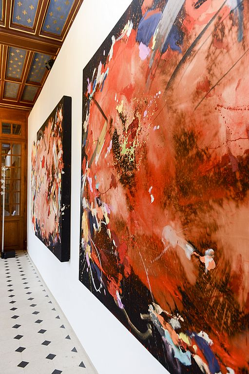 """Exposition """"Alchymia"""" de Yassine Mekhnache au Château de Chamarande"""