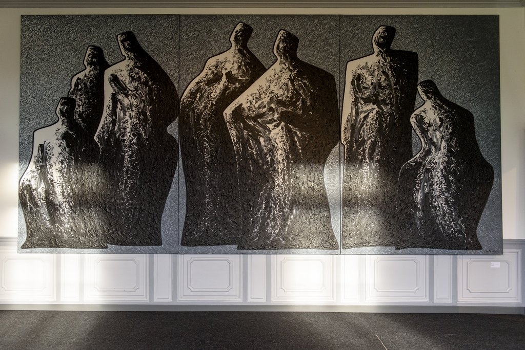 Exposition Ma Desheng au Domaine départemental de Chamarande