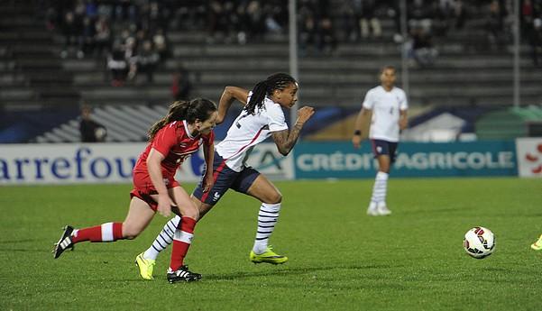 Match de football féminin France/Canada