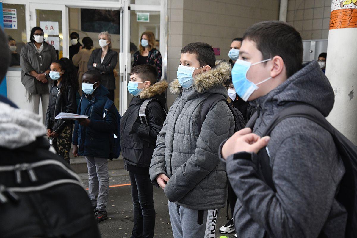 En Essonne, un retour au collège en toute sécurité