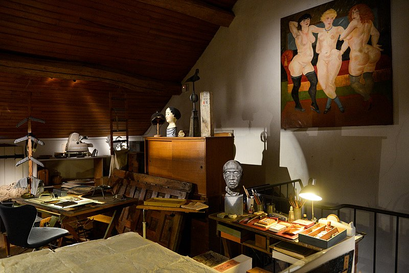 La Maison-atelier Foujita à Villiers-le-Bâcle